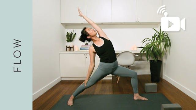 Live Replay: Flow Yoga (60 min) - wit...