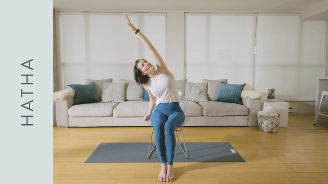 Hatha Yoga for the Office (10 min) — with Rachel Scott
