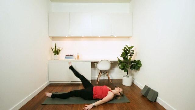 Smooth Transition Pilates Flow (40 min) - with Alison Lloyd-Nijjar