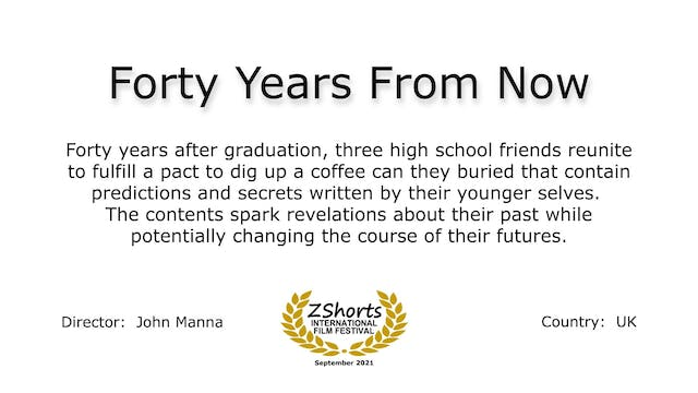 Forty Years From Now Intro 2109