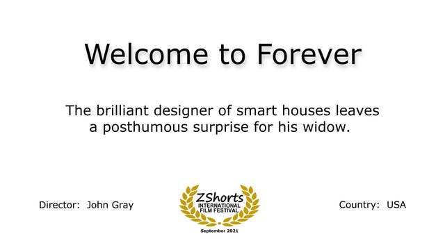 Welcome to Forever Intro 2109
