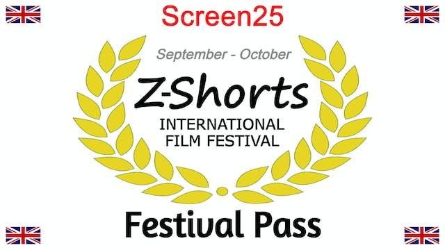 Screen25 - Festival Pass
