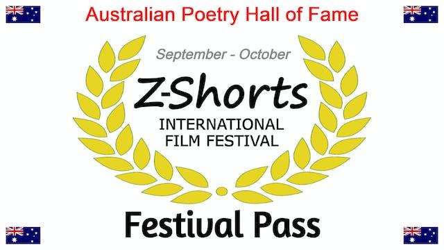 Australian Poetry Hall of Fame - Festival Pass