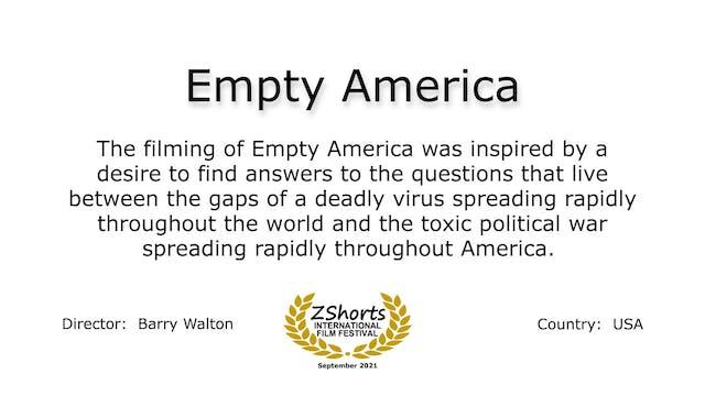 Empty America Intro 2109