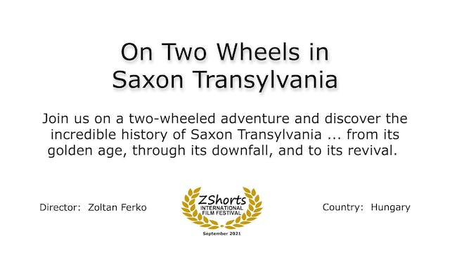 On Two Wheels Intro 2109