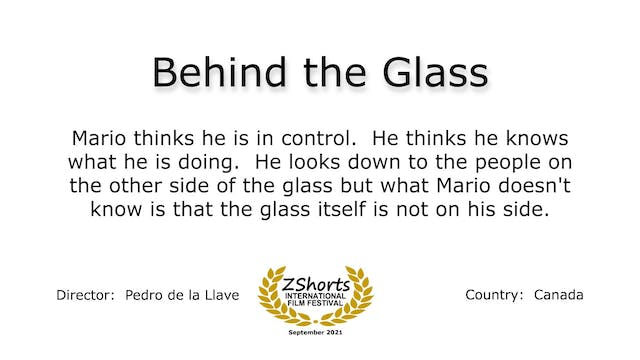Behind the Glass Intro 2109