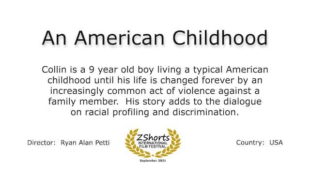 An American Childhood Intro 2109