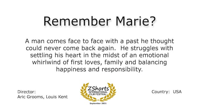 Remember Marie Intro 2109