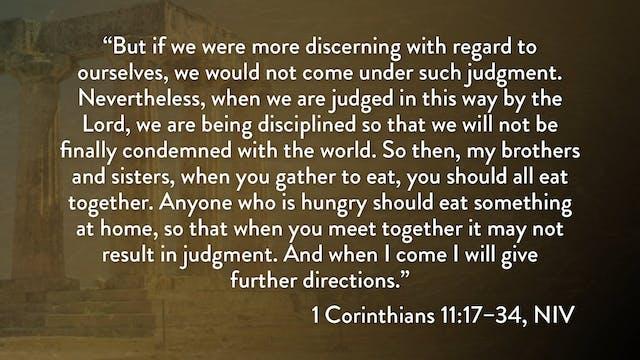 1 Corinthians - Session 23 - 1 Corint...