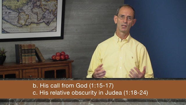 Galatians, A Video Study - Session 8 - Galatians 2:11-14