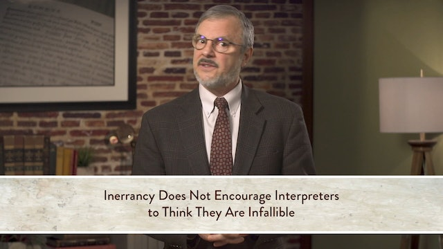 Five Views on Biblical Inerrancy - Session 5.4 - Kevin J. Vanhoozer Response