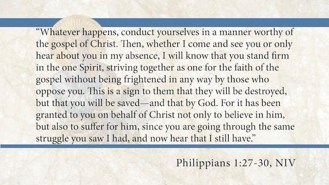 Philippians, A Video Study - Session ...