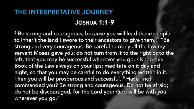 Grasping God's Word - Session 2 - The Interpretive Journey