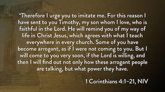 1 Corinthians - Session 10 - 1 Corint...