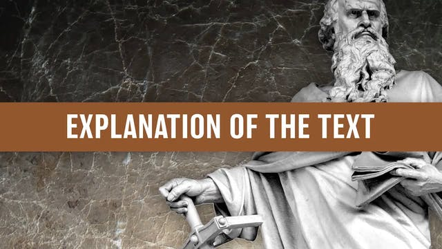 Galatians, A Video Study - Session 26...