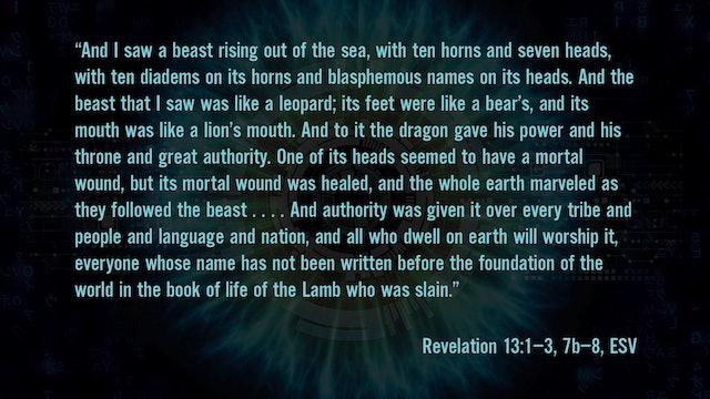 2084 - Session 12 - Homo Deus in the Book of Revelation