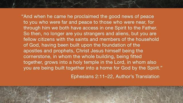 Ephesians (ZECNT) - Session 6 - Ephesians 2:11-22