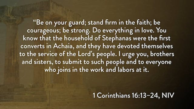 1 Corinthians - Session 35 - 1 Corint...