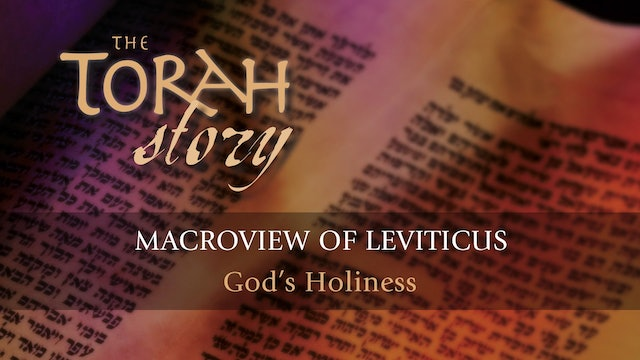 The Torah Story - Session 16 - Macroview of Leviticus