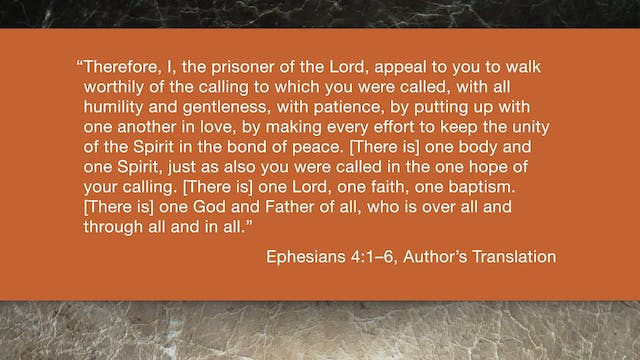 Ephesians (ZECNT) - Session 9 - Ephes...