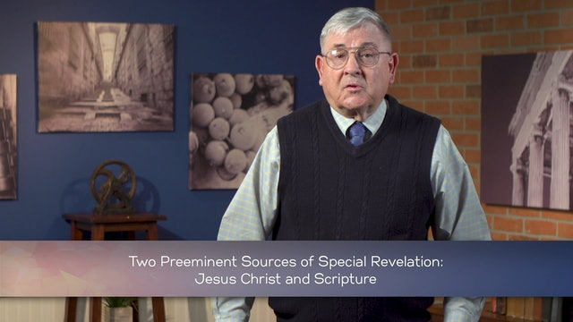 Intro to Christian Philosophical Theology - Session 3 - Revelation and Scripture