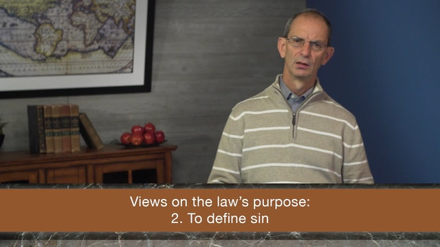 Galatians, A Video Study - Session 14 - Galatians 3:19-25