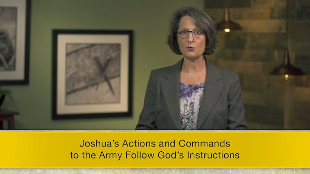 Joshua - Session 9 - Joshua 8:1-29