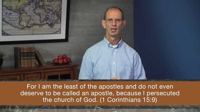 Galatians, A Video Study - Session 5 - Galatians 1:11-24