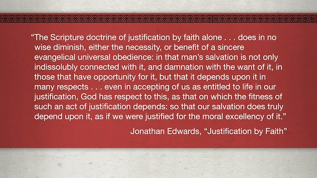 Faith Alone - Session 7 - Sola Fide i...