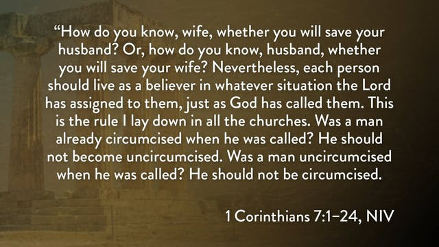 1 Corinthians - Session 15 - 1 Corint...