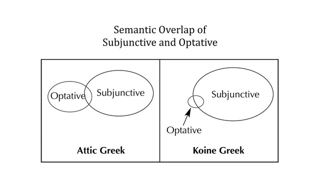 Greek Grammar Beyond the Basics - Session 16 - Subjunctive Mood