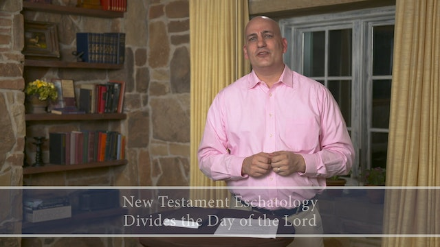 Engaging Theology - Session 11 - Eschatology: New Creation and the End