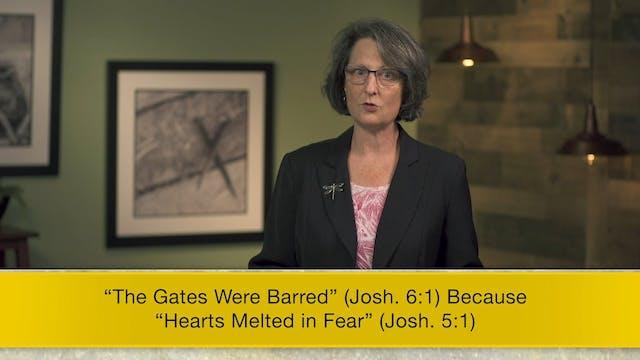 Joshua - Session 7 - Joshua 5:13-6:27