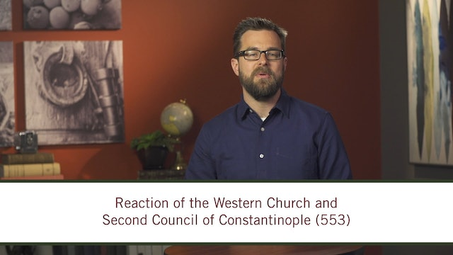Christian History - Session 6 - Centres and Margins: 500-600
