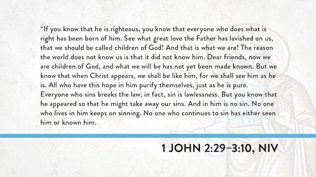 1, 2, and 3 John - Session 10 - 1 John 2:29-3:10