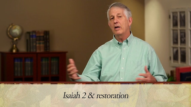 The Message of the Prophets - Session 6 - Isaiah 1 – 6
