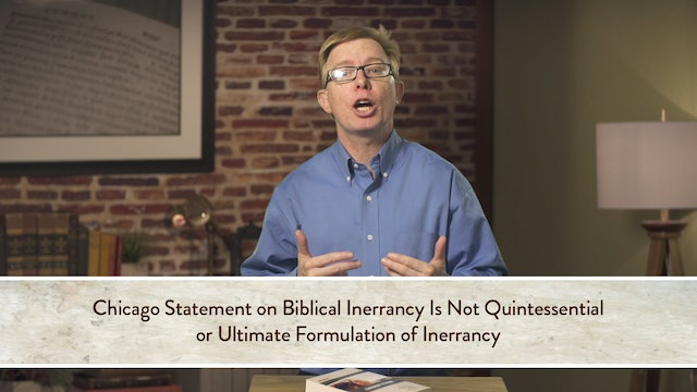 Five Views on Biblical Inerrancy - Session 1.2 - Micheal F. Bird Response