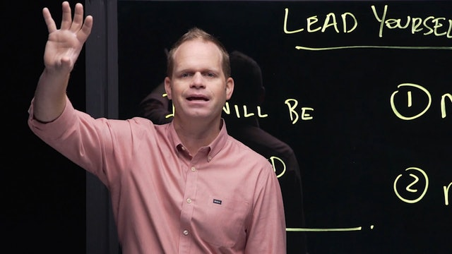 How To Lead When You're Not In Charge - Session 2 - Lead Yourself