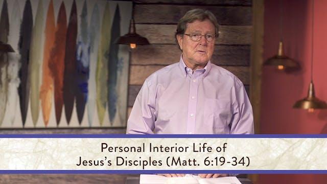 Matthew - Session 14 - Matthew 6:19-34