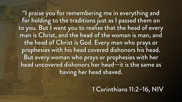 1 Corinthians - Session 22 - 1 Corint...