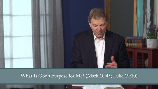 Conformed to His Image - Session 13 - Motivated: Identity, Purpose, Hope, & God