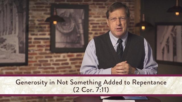 2 Corinthians - Session 14 - 2 Corinthians 8:1-15