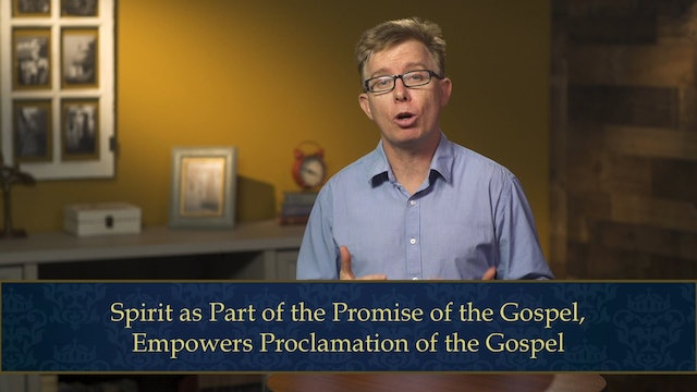 Evangelical Theology - Session 6.1 - God's Spirit: The Breath of the Gospel