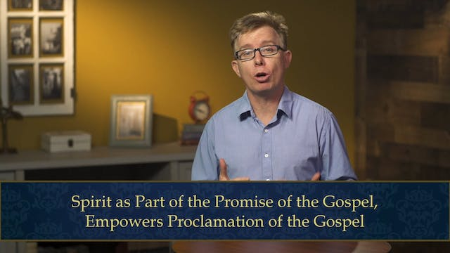 Evangelical Theology - Session 6.1 - ...