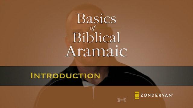 Basics of Biblical Aramaic - Introduction