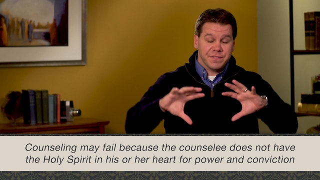 A Theology of Biblical Counseling - Session 6 - A Theology of the Holy Spirit