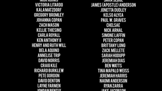 Searching for God Credits