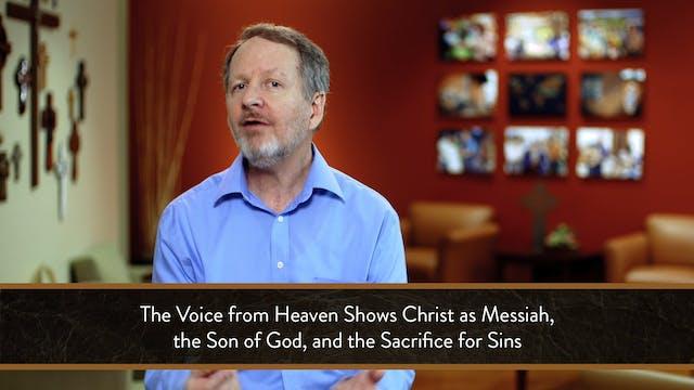 Mark - Session 5 - Mark 1:9-13