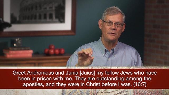 Romans, A Video Study - Session 48 - Romans 16:1-16