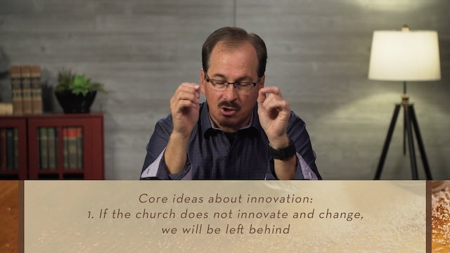 Organic Outreach for Churches - Session 9 - The Value of Innovation: Try Something